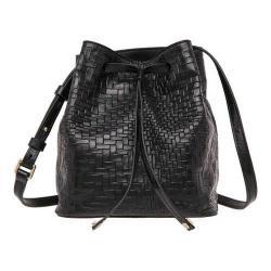 Women's Lodis Palma Blake Small Drawstring Handbag Black
