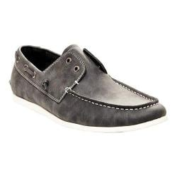 Men's Madden Gains Boat Shoe Grey Synthetic