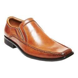 Men's Madden Linden Slip On Dress Shoe Tan Synthetic