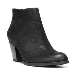 Women's Franco Sarto Domino Ankle Boot Black Ranch Leather