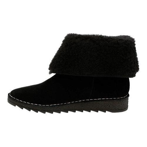 772656389a98 Shop Women s Clarks Olso Beth Ankle Boot Black Suede - Free Shipping ...
