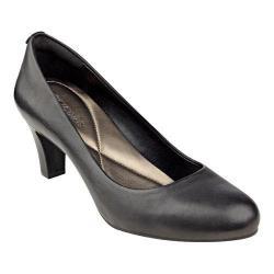 Women's Easy Spirit Avalyn Pump Black Leather