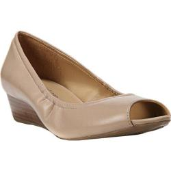 Women's Naturalizer Contrast Slip On Tender Taupe Sheep Opera Leather