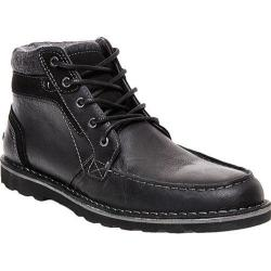 Men's Steve Madden Intrepad Moc Toe Chukka Boot Black Leather