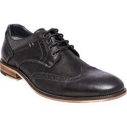 Men's Steve Madden Jumboe Wing Tip Oxford Black Leather