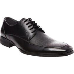 Men's Steve Madden Soloment Lace Up Shoe Black Leather