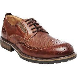 Men's Steve Madden Sparx Wing Tip Oxford Tan Leather