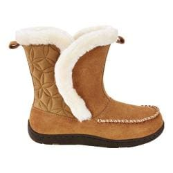 Women's Tempur-Pedic Joanie Boot Slipper Hashbrown Suede/Textile