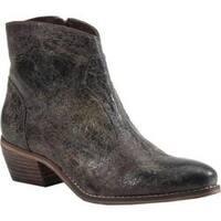 Women's Diba True Plen Tee Cowboy Boot Charcoal Leather