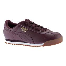 Men's PUMA Roma Basic Winetasting/Puma White
