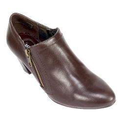 Women's Rialto Satellite Bootie Brown Smooth Synthetic