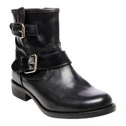 Women's Steve Madden Cain Ankle Boot Black Leather