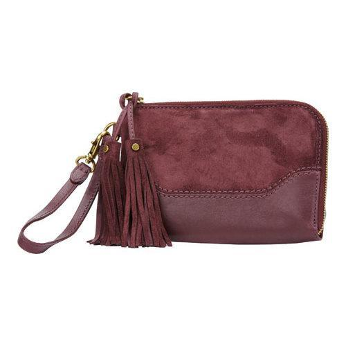 Shop Women s Frye Paige Wristlet Wine - Free Shipping Today - Overstock -  12834452 d67f5224be