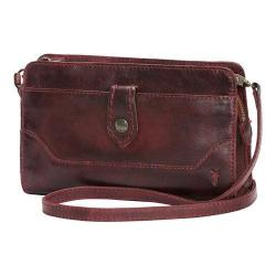 Women's Frye Melissa Crossbody Clutch Wine