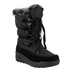 Women's Spring Step Prevo Boot Black Nylon