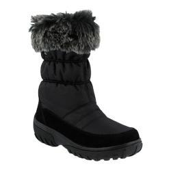 Women's Spring Step Rolim Boot Black Nylon