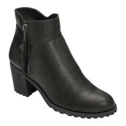Women's Aerosoles Convincing Bootie Black Faux Leather