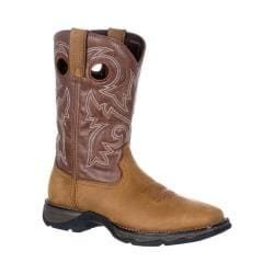 Women's Durango Boot DRD0150 10in Durango Lady Rebel Boot Brown/Chocolate Full Grain Leather