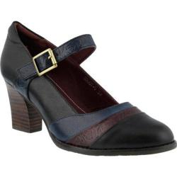 Women's L'Artiste by Spring Step Ashini Mary Jane Black Multi Leather