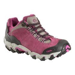 Women's Oboz Bridger BDry Hiking Shoe Magenta
