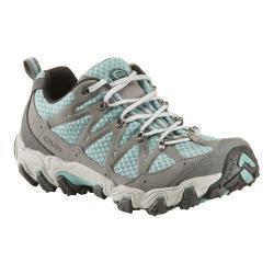 Women's Oboz Luna Hiking Shoe Mineral Blue