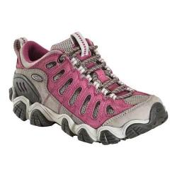 Women's Oboz Sawtooth Low Hiking Shoe Magenta