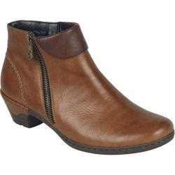 Women's Rieker-Antistress Lynn 61 Bootie Muskat/Kastanie Leather
