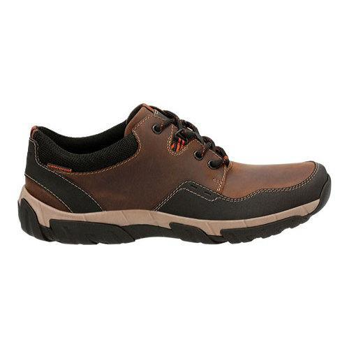 Mens Clarks Walbeck Edge II Waterproof Leather Lace Up Shoes