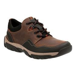 Men's Clarks Walbeck Edge Sneaker Brown Waterproof Leather