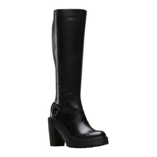 e9efc314447 Shop Women's Dr. Martens Lyanna Knee High Boot Black Polished Buttero -  Free Shipping Today - Overstock - 12848530