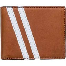 Men's J.Fold Classic Roadster Leather Slimfold Wallet Burnt Orange