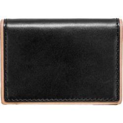 Men's J.Fold Duotone Leather Folding Card Carrier Black