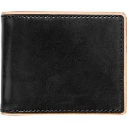 Men's J.Fold Duotone Leather Slimfold Wallet Black