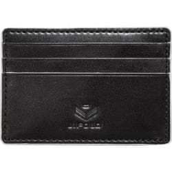 Men's J.Fold Roadster Flat Stash Leather Card Carrier Black