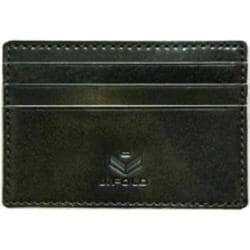 Men's J.Fold Roadster Flat Stash Leather Card Carrier Olive