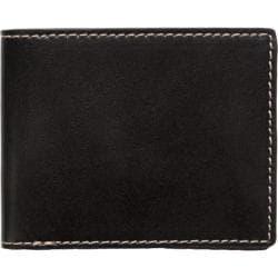 Men's J.Fold Shelby Leather Slimfold Wallet Black