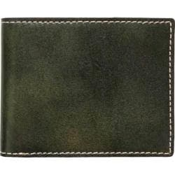 Men's J.Fold Shelby Leather Slimfold Wallet Olive