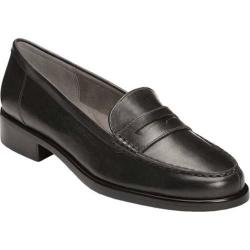 Women's Aerosoles Main Dish Loafer Black Leather