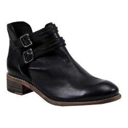 Women's Diba True Road Map Cut Out Bootie Black Leather