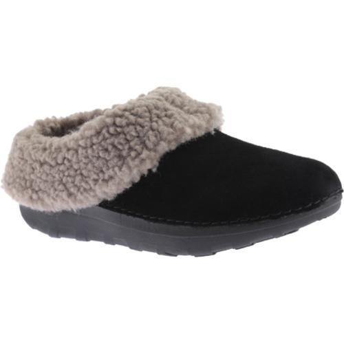 e804cd34f Shop Women s FitFlop Loaff Snug Suede Slipper Black Suede - Ships To Canada  - Overstock.ca - 12869306