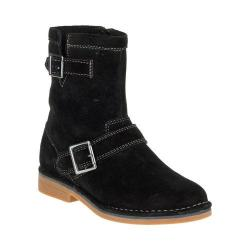 Women's Hush Puppies Aydin Catelyn Ankle Boot Black Suede