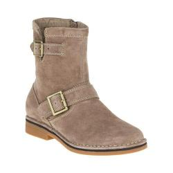 Women's Hush Puppies Aydin Catelyn Ankle Boot Taupe Suede