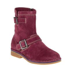 Women's Hush Puppies Aydin Catelyn Ankle Boot Wine Suede