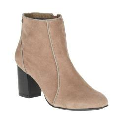 Women's Hush Puppies Melodi Langdon Bootie Taupe Suede