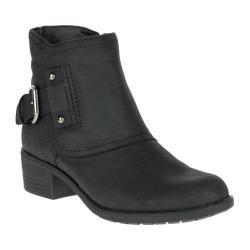 Women's Hush Puppies Proud Overton Ankle Boot Black Waterproof Leather