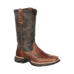Women's Durango Boot DRD0149 11in Durango Lady Rebel Boot Brown/Black Full Grain Leather - Thumbnail 0