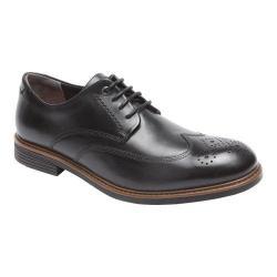 Men's Rockport Classic Break Wingtip Oxford Black Leather
