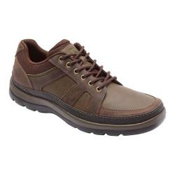 Men's Rockport Get Your Kicks Blucher Dark Brown Leather