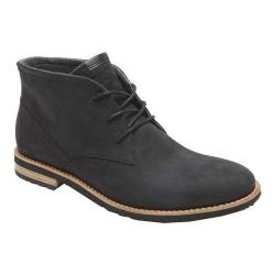 Men's Rockport Ledge Hill Too Chukka Boot Black Suede