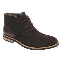 Men's Rockport Ledge Hill Too Chukka Boot Dark Bitter Chocolate Suede